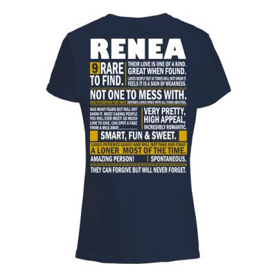 Renea Name Tee Shirts Funny Renea Name Special Gifts