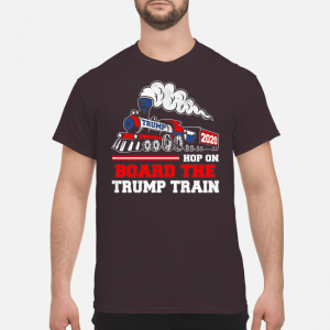 Hop On Board The Trump Train 2020 Shirt