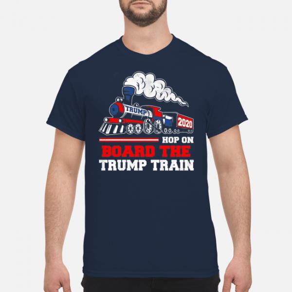 Hop On Board The Trump Train 2020 Shirt