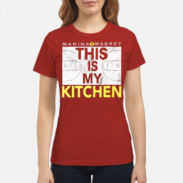 Marina Mabrey - This Is My Kitchen Shirt Long Sleeves Tank Top