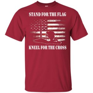 Official Funny Stand for the flag Kneel for the cross Shirt, Long sleeve, Hoodie