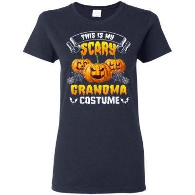 This Is My Scary Grandma Costume Halloween T-Shirt, Sweatshirt, Hoodie