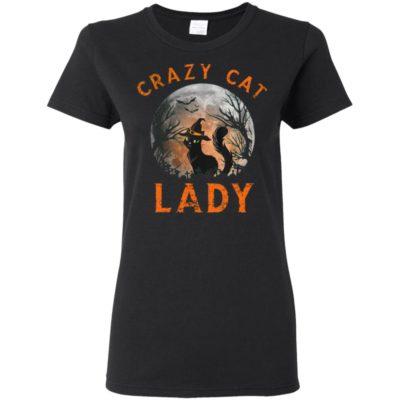 Crazy cat lady Moon Halloween Cat costume Halloween Shirt Sweatshirt Hoodie