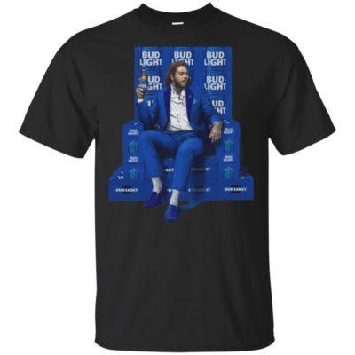 Post Malone Bud Light Beer Shirt Tank Top Long Sleeve Hoodie
