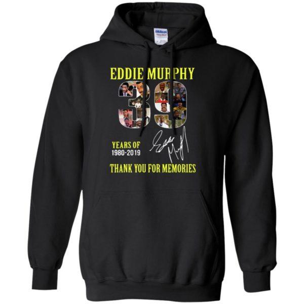 39 Years of Eddie Murphy 1980-2019 thank you for memories shirt, ls, hoodie, Eddie Murphy T Shirt
