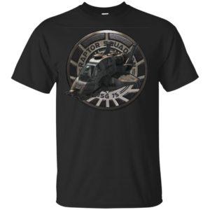 Battlestar Galactica Raptor Squadron Bsg 75 Tv Series Viper Space Battleship Shirts