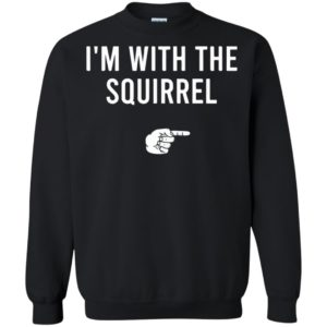 I'm With The Squirrel Halloween Costume Party Matching Sweatshirt, Long Sleeve, Shirt