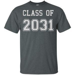 Official Class of 2031 Rowan t shirt