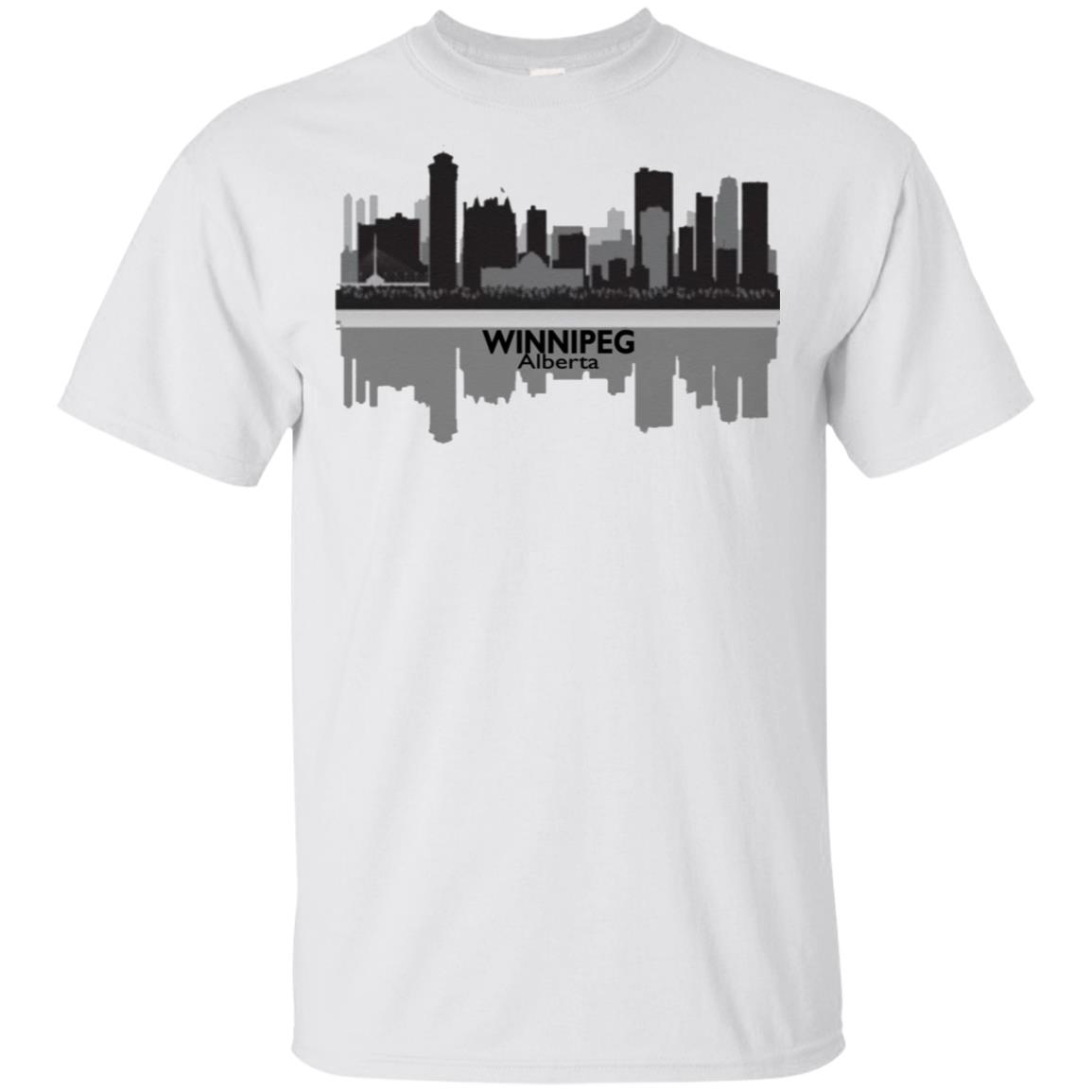 outlet store f578f f8301 AJ Cole III Winnipeg Alberta Skyline Shirt, long sleeve, hoodie