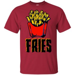 Burger and Fries matching Halloween costume for couples set Long Sleeve T-Shirt
