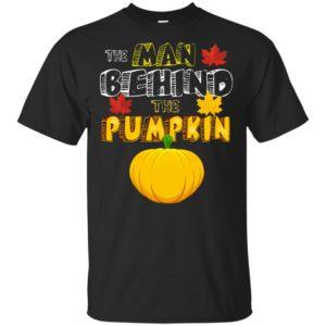 The man behind the Pumpkin Pregnancy Man Halloween Shirt, sweatshirt, ls, hoodie
