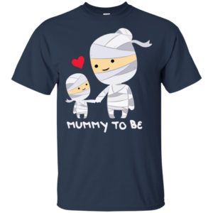 Mummy To Be T Shirt Cute Funny Halloween Long Sleeve T-Shirt, hoodie