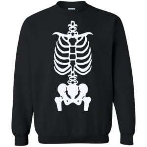Skeleton Halloween Costume Shirt Gift For Men Women Long Sleeve T-Shirt