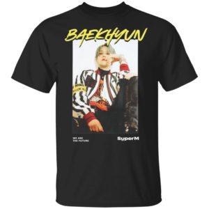 Baekhyun ar Tee We are the Future SuperM Shirt