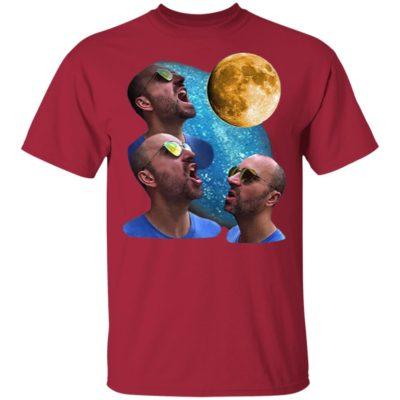 Three Zach Moon T-Shirt, ls, hoodie