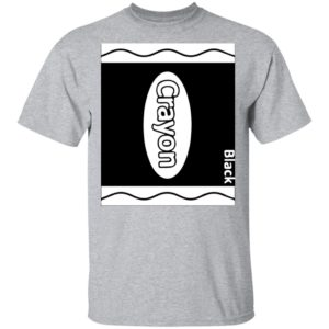 Black Crayon Box Halloween Shirt, ls, hoodie