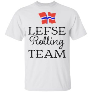 Awesome Lefse Rolling Team Flag of Norway shirt