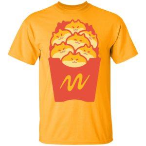 Friendch Fries Mcdonalds cat shirt, long sleeve, hoodie