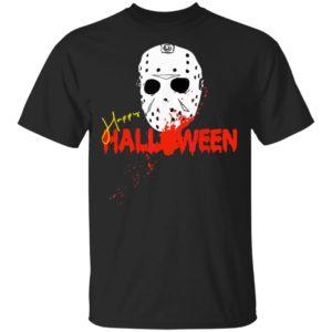 Die Halloween Maske Happy Halloween Shirt, ls , hoodie