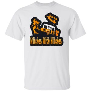 Witches With Hitches Camping Funny Halloween T-Shirt