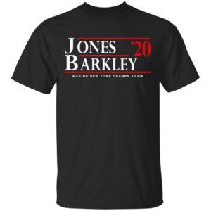 Daniel Jones and Saquon Barkley for President 2020 Shirt