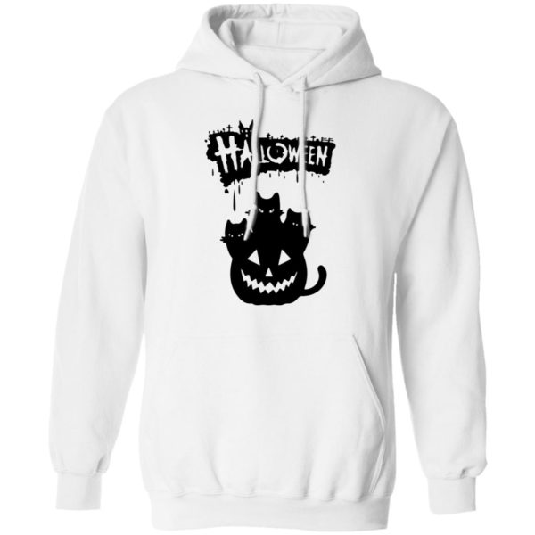 Halloween Pumpkin Cats shirt, long sleeve, hoodie