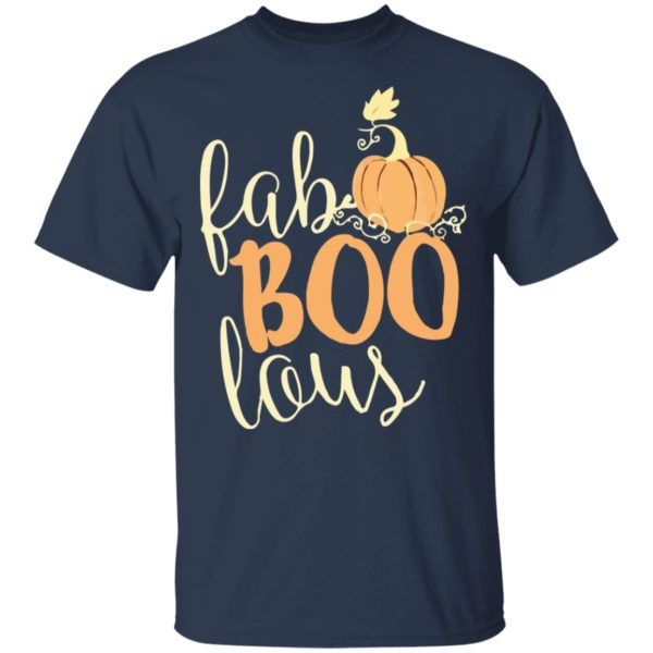 Fab boo lous Pumpkin Halloween Shirt, Long Sleeve, Hoodie