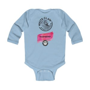 White Claw Baby Costume Raspberry Infant Bodysuit