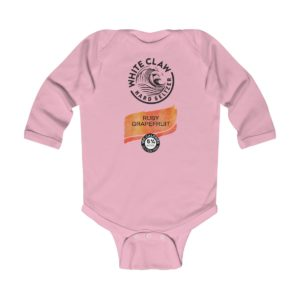 White Claw Baby Costume Ruby Grapefruit Infant Bodysuit