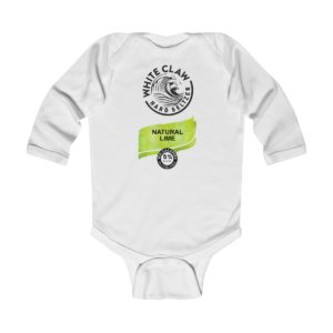 White Claw Baby Costume Natural Lime Infant Bodysuit