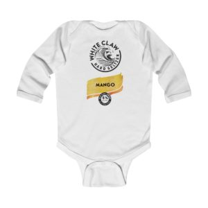 White Claw Baby Costume Mango Infant Bodysuit