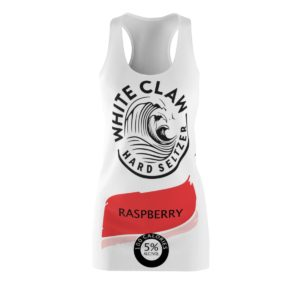 White Claw Halloween Costume Raspberry Dress
