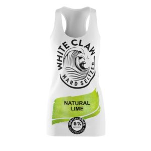 White Claw Costume Dress Natural Lime