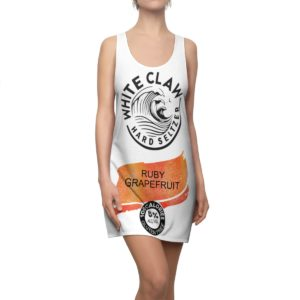 White Claw Costume Dress Ruby Grapefruit Halloween