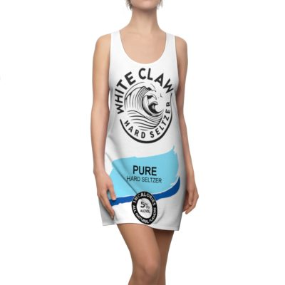 White Claw Hard seltzer Pure Halloween Costume Dress