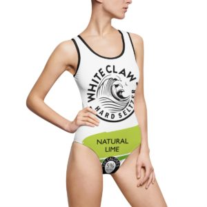 White Claw Natural Lime Swimsuit