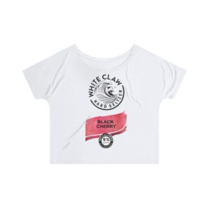 White Claw Hard Seltzer Black Cherry Slouchy top