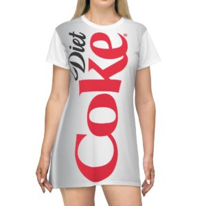 Diet Coke Light Costume Dress
