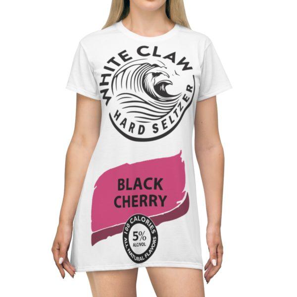 White claw Hard seltzer Black Cherry Halloween Costume Dress