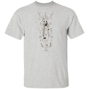 Inktober day six bone Shirt, Ls, Hoodie