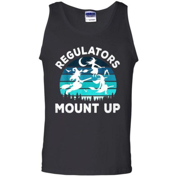 Regulators Mount Up Funny Halloween Flying Witches T-Shirt, Ls, Hoodie