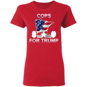 Cops For Trump Shirt Sweatshirt