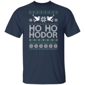 Game of throne HO HO Hodor Christmas Shirt, Sweater