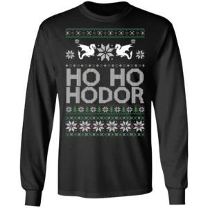 Game of throne HO HO Hodor Christmas Shirt, Sweater