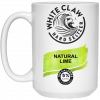 White Claw Hard Seltzer Natural Lime Mug, Travel Mug
