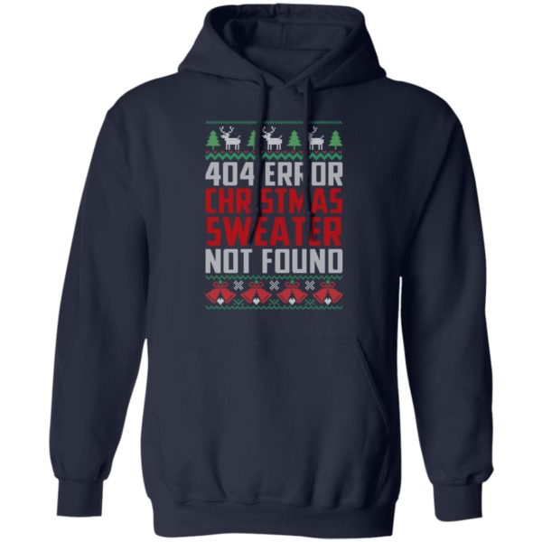 404 Error Christmas Sweater Not Found Funny Shirt, long sleeve, sweater