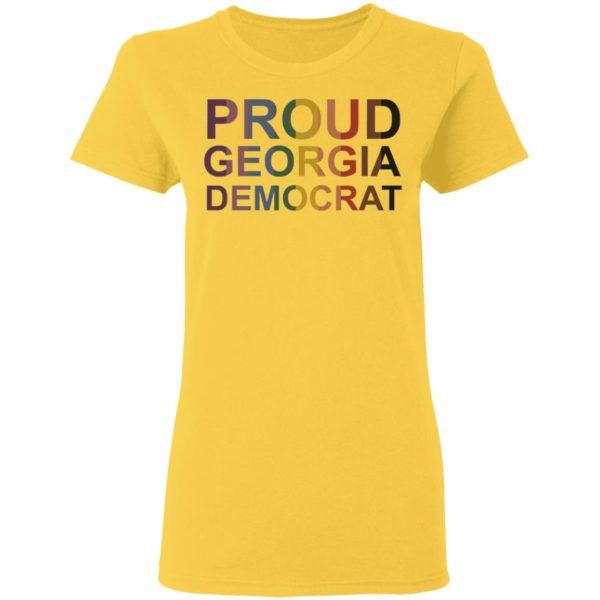 PROUD GEORGIA DEMOCRAT Shirt, Long Sleeve, Hoodie