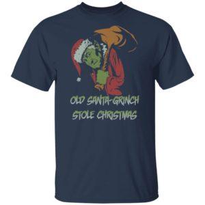 Old Santa-Grinch Stole Christmas Shirt Sweater
