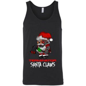 Terminator Santa Claws Christmas Shirt