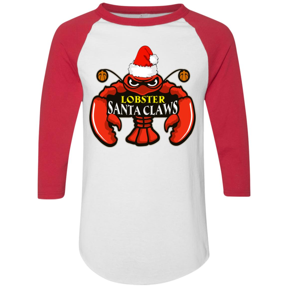 Christmas Shirt.Lobster Santa Claws Christmas Shirt Long Sleeve Sweater Hoodie